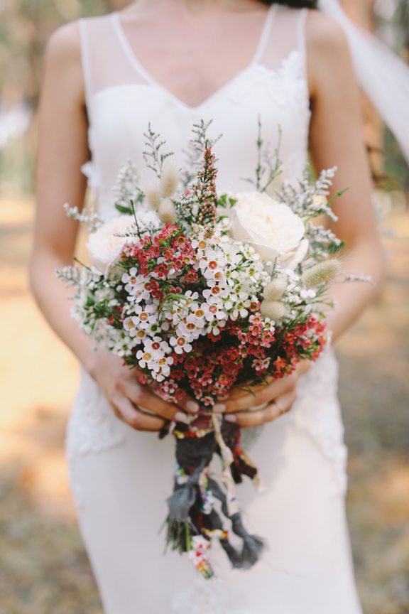 Bouquet with Waxflower | Dreisbach Wholesale Florists