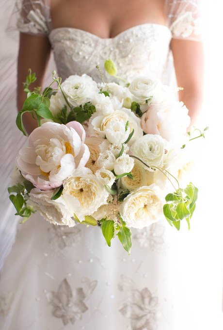 Blush Bridal Bouquet By Brides.com