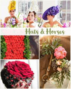 Floral Friday ~ Hats and Horses