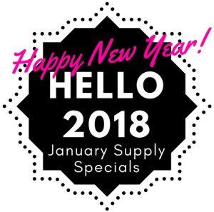 January Supply Specials