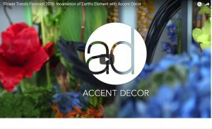 IFD Flower Trends Forecast 2018: Incarnation of Earth's Element with Accent Décor