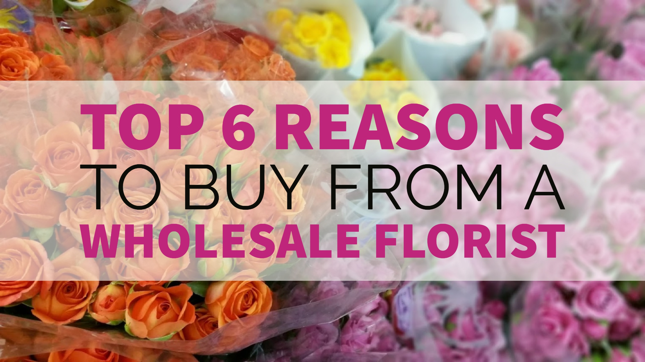 Top 6 Reasons to Buy from a Wholesale Florist | Dreisbach Wholesale ...