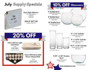 July Supply Specials