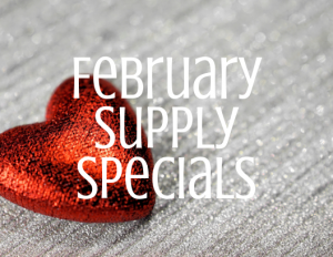 February Supply Specials