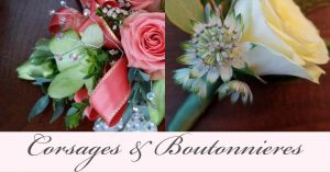 Floral Friday ~ Corsages & Boutonnieres