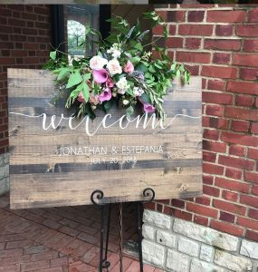 Floral Friday ~ Signs