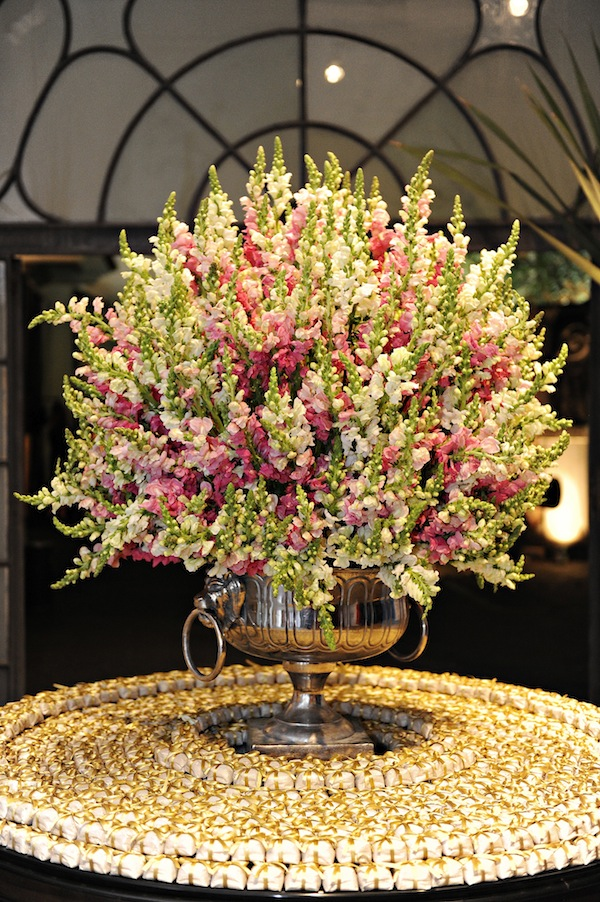 Pink Snapdragon Arrangement makes a WOW statement