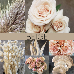 Floral Friday ~ Beige