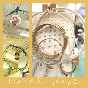 Floral Friday ~ Floral Hoops