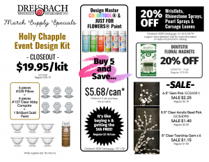 March Supply Specials