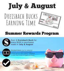 Summer Rewards are Back!